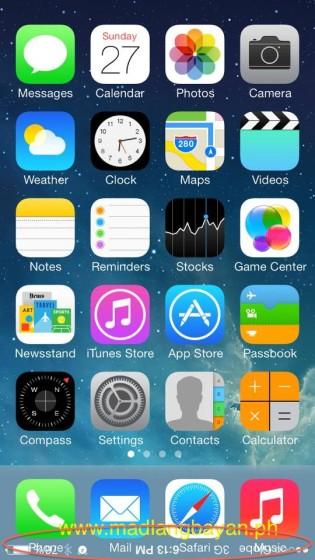 iOS 7.0.3 bug