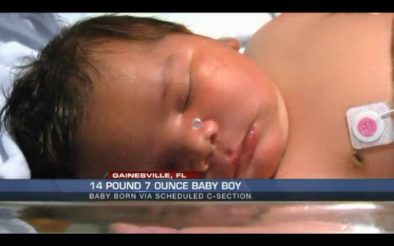 14-pound Baby