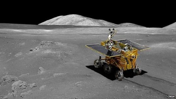 China moon landing: Jade Rabbit lunar rover