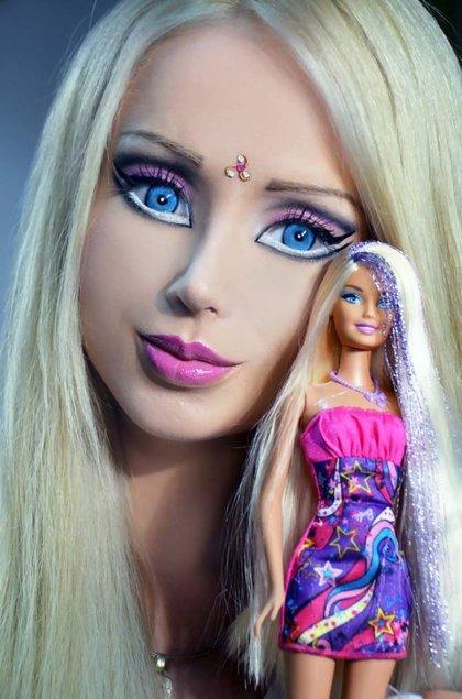Valeria Lukyanova Ukrainian Human Barbie