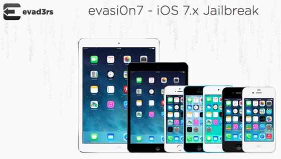 iOS 7 jailbreak evasi0n7