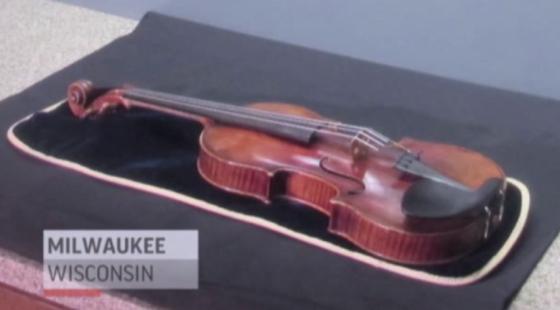 stradivarius violin found