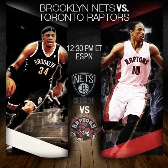NBA Playoffs 2014: Brooklyn Nets vs Toronto Raptors