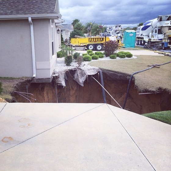Florida sinkhole 2014