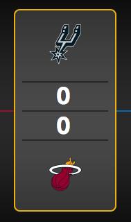 NBA Finals schedule