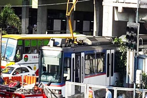 MRT train accident 2014