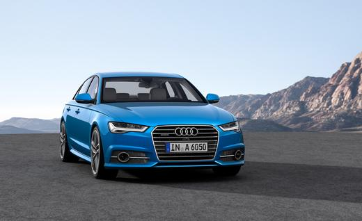 Audi A6 2016 model front