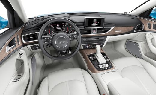 Audi A6 2016 model interior
