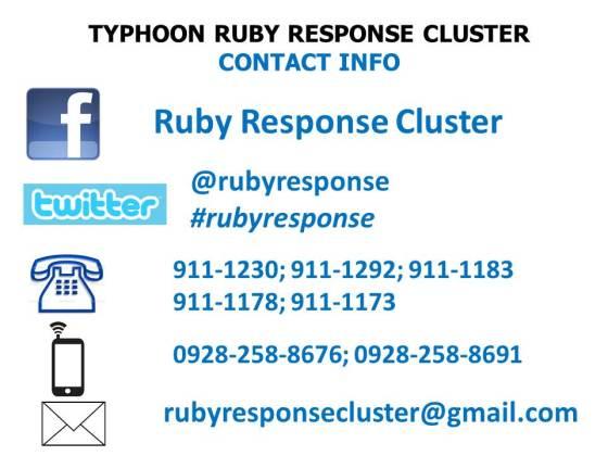 Bagyong Ruby Typhoon Ruby
