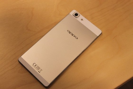 oppo r5 thinnest smartphone in the world