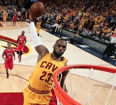 Cavs in NBA Finals 2015